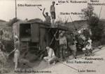 Vršidba psenice  u Priboju Majevičkom