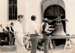 Podizanje zvona na crfkvu u Priboju