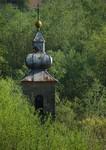 Zvonik stare crkve u u Rastošnici