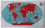 Karta svijeta - Origami - Vesna Rikić