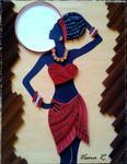 Origami Afrika - Quilling tehnika Vesna Rikić