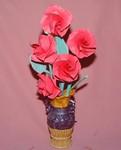 Origami -  Cvijeće u vazni Vesna Rikić