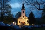 Crkva Priboj na Uskrsnje jutro