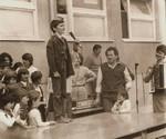 Recitacija ispred  škole u Priboju