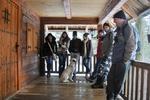 Učesnici zimskog izleta na Busiju